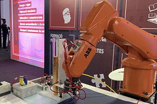 Una aplicación para un brazo robotizado