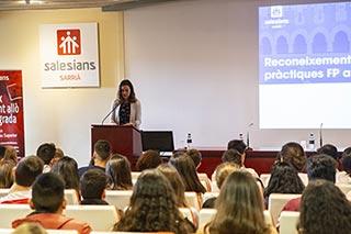 Visita de Laura Ballarín, candidata a las elecciones europeas