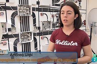 TVE visita el taller de telecos