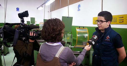Curs 14-15 Reportatge TV3 Taller Mecànica