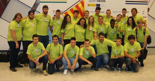Curs 14-15 Participació de Fusteria al concurs Spain Skills 2015