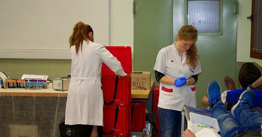 Curs 14-15 Campanya Donació Sang