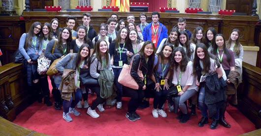 Curs 15-16 Visita Parlament de Catalunya